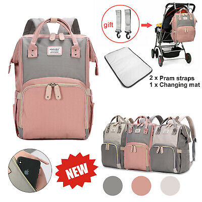 Mummy Backpack Baby Diaper Large Mommy Bag Nappy Changing Travel Multifunctional