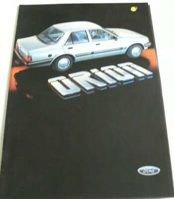Brochure FORD ORION de 03 / 1985