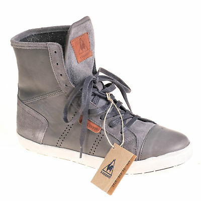 wholesale dealer 1f155 2d1ed LE COQ SPORTIF Damen Sneaker High Leder Grau