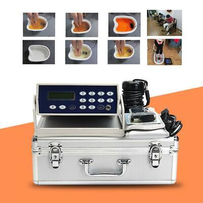 Profession Body Detox Machine Ion Array Footbath Spa Cleanse Ionic Waist Belt