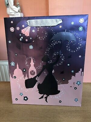 Primark Disney Mary Poppins Large Gift Bag.