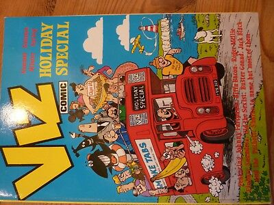 Viz Holiday Special 1988 Exc cond adult (sort of) humour. Features Harry Enfield