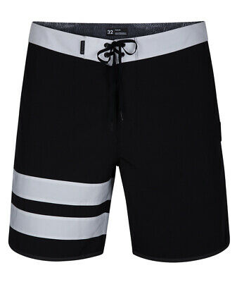 5a440fe23991d Hurley Phantom Block Party Solid 18' Technical Boardshorts in Black