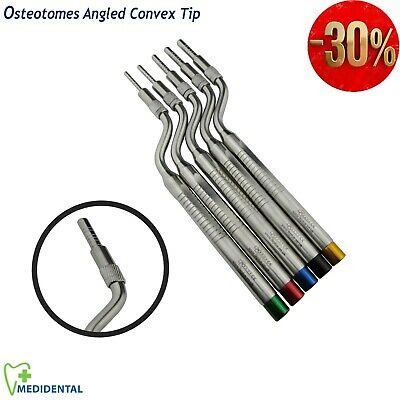 Sinus Lift Osteotomes Offset Convex Tip for surgery Dental Impant instruments