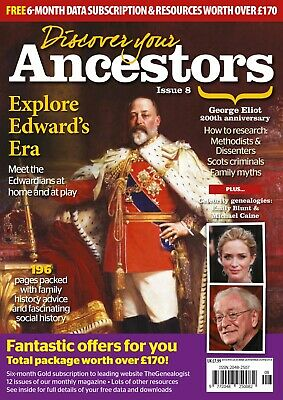 Discover Your Ancestors Issue 8 - Family History / Genealogy Magazine