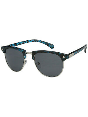 06e10888270 Glassy Sunhaters Marty Polarized Sunglasses Retro Blue Tortoise Silver New