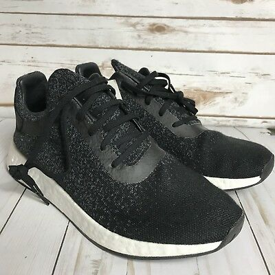 Adidas Wings + Horns WH NMD R2 Black Grey White PK Primeknit CP9550 US  Men s 11 968d41b118a50
