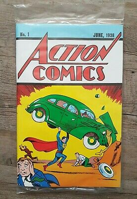 Action Comics Issue 1 June 1938 Authentic Special Edition Reprint Superman