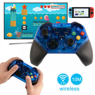 Wireless Pro Controller with Charging Cable for Nintendo Switch Console AC1726