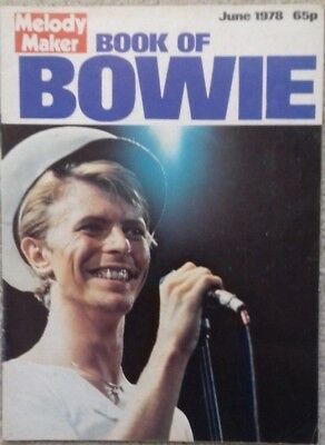 David Bowie - Melody Maker Book of Bowie - rare publication