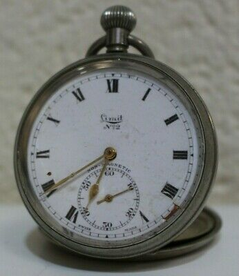 LIMIT No2 SWISS Made Non Magnetic Pocket Watch - 254