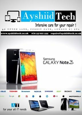 Samsung Galaxy Note 3 Front Screen Gorilla Glass Repair / Replacement Service