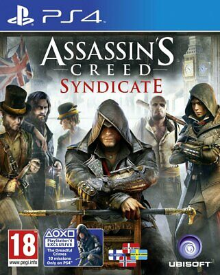 Assassin's Creed Syndicate - PS4 IMPORT neuf sous blister