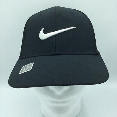 finest selection 4efad 4e1ef Nike Unisex Golf Legacy 91 Tour Mesh Cap   Hat NEW Black Size S M