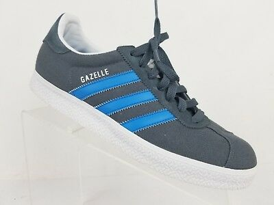 69a42ee704 ADIDAS GAZELLE SNEAKERS Solid Gray/white Suede Men Sz 8 US - $34.00 ...