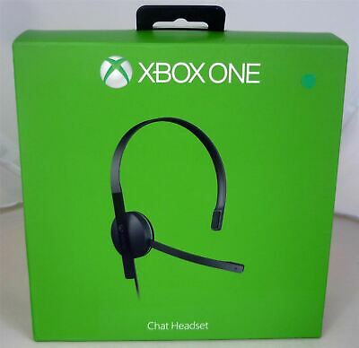 Genuine Official Microsoft Xbox One Chat headset inc Mic