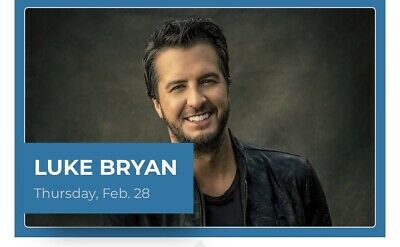 2 LUKE BRYAN Tickets in Section 111, Row AA at Rodeo Houston, Feb 28