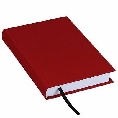 """Hardcover Lined Ruled Journal Notebook Diary Book - Red - 5"""" X 7"""""""