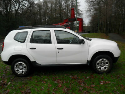Dacia Duster 1.5dCi 110 ( 107bhp ) Ambiance 4x2 2013/13 In White
