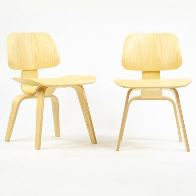 Herman Miller Eames DCW Dining Chair White Ash MINT 2007 5x Available