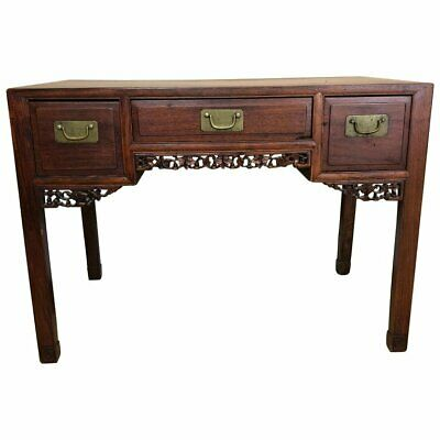 Small Chinese Rosewood Desk, Late Qing Dynasty