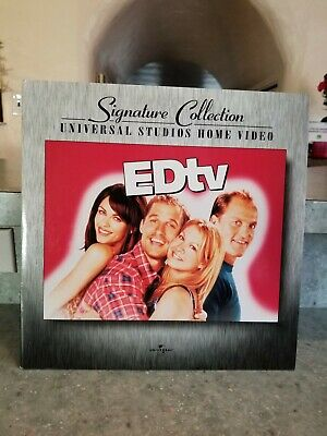 EDTV 2-Laserdisc LD WIDESCREEN FORMAT SIGNATURE COLLECTION NEW SPECIAL FEATURES
