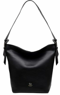 8a58b78c033 Radley London NWT Finch street bucket small hobo leather black tote Top Zip