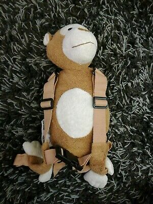 Childs Cuddling Monkey Reins By Goldbug Safety Harness