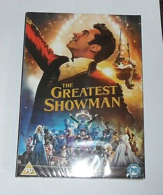 The Greatest Showman DVD UK Region 2 Stock 2018