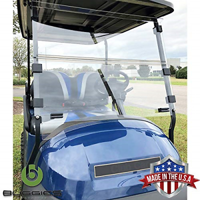 Buggies Unlimited Club Car Precedent 2004-Up Folding Golf Cart Clear Windshield