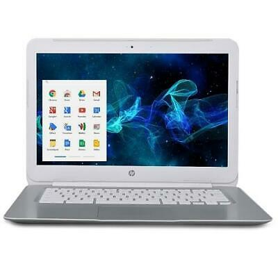 "HP Chromebook 14 G1 Celeron 2955U Dual-Core 1.4GHz 4GB 16GB eMMC 14"" LED (White)"