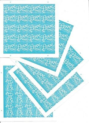 100 USPS LOVE Forever Postage Stamps (100 stamps)***Free shipping***