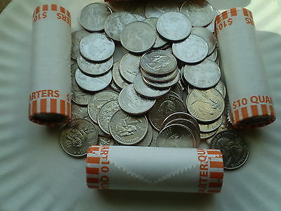 """State Quarters- Lot Of 50 Coins Complete Set  """"p""""  Mint"""