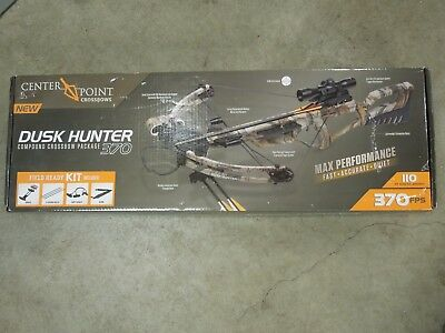 CenterPoint DuskHunter 370 Compound Crossbow Package *BRAND NEW*