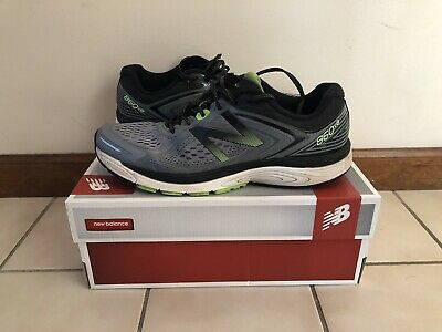 7f1955757fc9 MEN S NEW BALANCE 860v8 Running Shoe Cross Country Trainers Size 12 ...