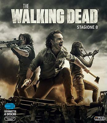 The Walking Dead - Stagione 8 (4 Blu Ray) NUOVO SIGILLATO
