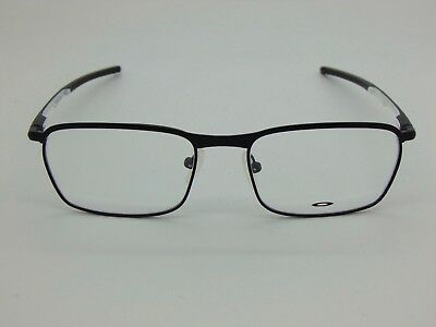 4aa7255476ee2 NEW Authentic OAKLEY Conductor OX3186-0554 Satin Black White 54mm Rx  Eyeglasses