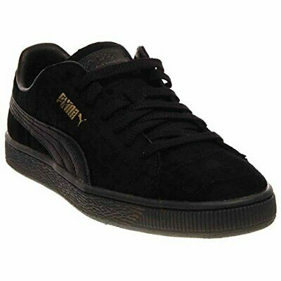 Puma X Vashtie States Mens Black Suede Lace Up Sneakers Shoes 10.5 255cfe04a