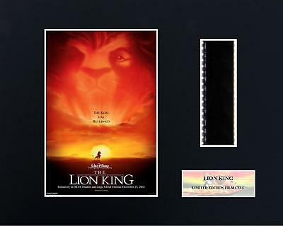 The Lion King  (8 x 10) 35mm film cells