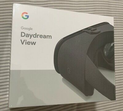 NEW SEALED Google Daydream View 2017 2nd Gen GA00204-US VR Headset Charcoal