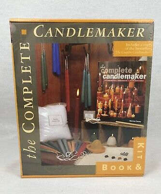 The Complete Candlemaker Book & Kit Norma Coney New & Sealed in Box