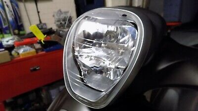 2018 Piaggio Beverly 350 Sport Tourer Headlight assembly with bulbs. Unmarked