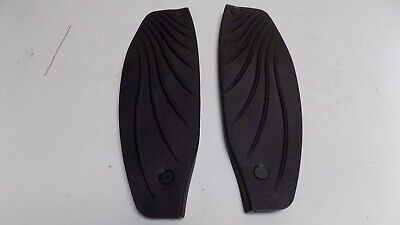 2018 Piaggio Beverly 350 Sport Tourer Rubber non slip footboard covers. Unmarked