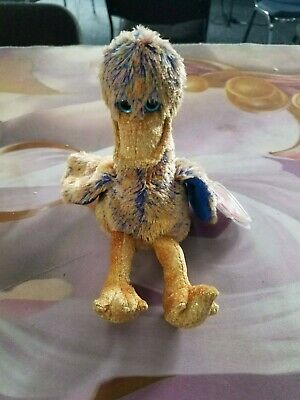 Ty Beanie Baby DINKY the Duck 2000 4th Fourth Generation with tag cover