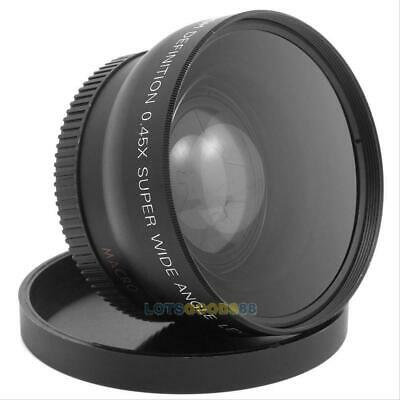 Neewer Digital High Definition 52mm Super Wide Angle 0.45x With Macro Lens