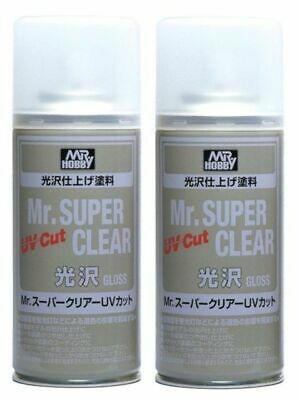 Mr Hobby Mr Super Clear 522 2X Gloss UV Cut Spray 170ML Model Bandai