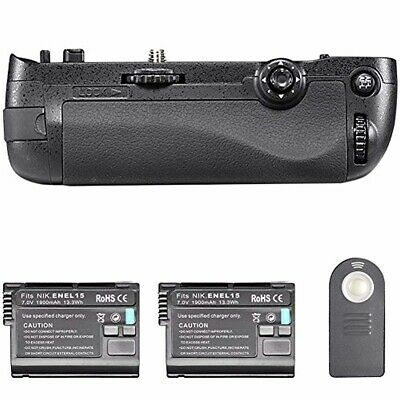 Neewer Infrared Remote Control Vertical Battery Grip Replacement for MB-D16 with