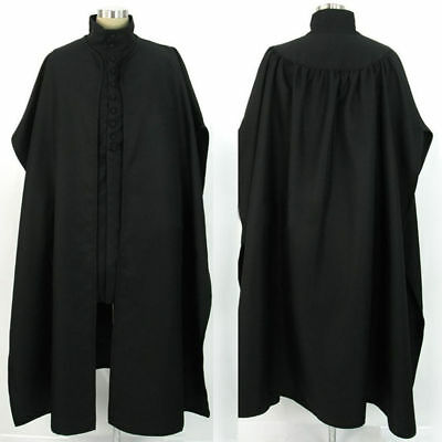 2019 Hot NEW Hogwarts School Severus Snape Cosplay Costume Unisex in Stock