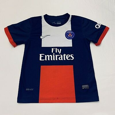 fad809177 PARIS SAINT-GERMAIN FLY Emirates Pink Nike Dri-Fit Soccer Futbol ...