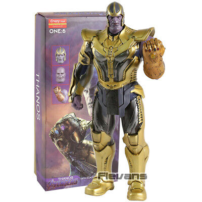Crazy Toys Avengers Infinity War Thanos 1/6 Scale PVC Action Figure Collectible